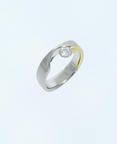 "Ring ""Diamantenstern"""