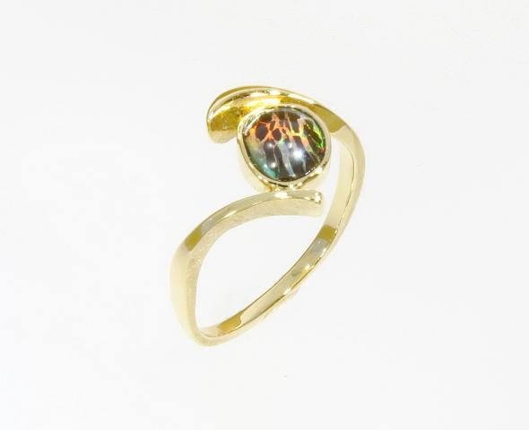 Opalring gold